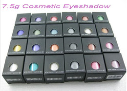 Free Shipping New Brand Makeup 7.5g Pigment Eyeshadow   Single Loose Eye Shadow With English Name 24 Colors 24pcs lot