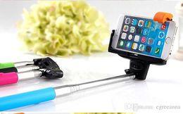 Z07-5 Selfie Sticks Monopod Bluetooth Selfie Monopods extendable self timer Bluetooth Remote Shutter & Clip For iPhone Samsung