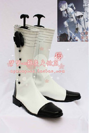 Wholesale New Arrival Black Butler Ash Landers Cosplay Shoes Boots