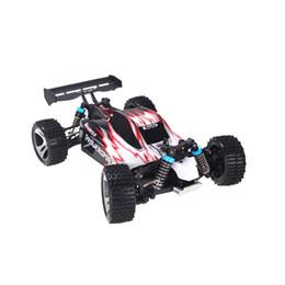 Promotion 4wd nouvelle voiture L'arrivée de nouveaux WLtoys A959 1/18 01h18 échelle RC Toy Car 4WD Off-Road Buggy voiture avec émetteur 2.4G pour les enfants des jouets pour $ 18Personne piste