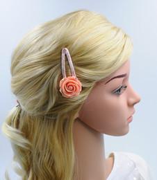 Girl Floral Hair Clip Rose Hair Pin Women Hair Accessories New Fashion High Quality Headwear for Wholesale