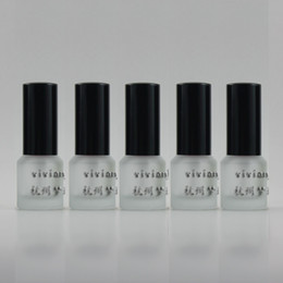 15ml clear frosted Glass travel refillable perfume bottle with black aluminum sprayer,perfume container,thin bottom