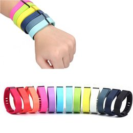 2015 New Replacement Fitbit Flex Wireless Band Activity Bracelet Wristband With Clasp Not include tracker Hot 200pcs