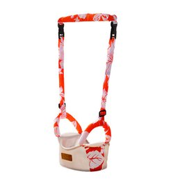 Wholesale Learning Walkers - assist baby walk infant walker baby toddler walkerKid baby walking wings Helper Learning Teach Walking Assistant Walk Safety Flower Plated