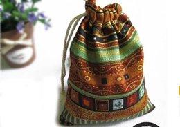 Wholesale 3pcs Fluid Systems Buddhist prayer beads Card Drawstring Bags cm
