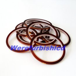 Wholesale mm x m High Temperature Heat Resistant Polyimide Adhesive Tape for sublimation heat press machine