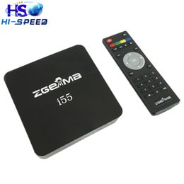Wholesale 1PC New IPTV BOX Zgemma I55 Bcm7362 Dual Core High CPU Satip Linux OS Enigma2 WiFi HDMI Support SatIP