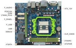 Wholesale 2073 ATX HCM55X11A AMD A8 A6 A4 E2 Multidisplay Motherboard SATA COM USB Giga LAN xPCIE X solt Mini PCIE DDR3 DVI ATX PWR