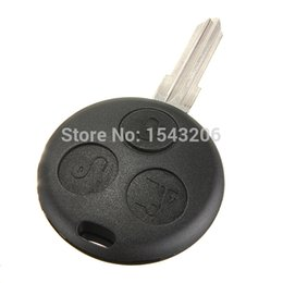 Wholesale 3 Button MHz Remote Key Fob Chip Blade For Smart Fortwo For four City Roadster order lt no tracking