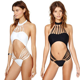New Woman Swim Suit One Piece Bathing Suits Sexy Swimsuits for Women White Black Mesh Swimming Suit Sexy Monokini