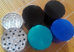 wholesale herb grinder smoking grinder size CNC grinder metal cnc teeth tobacco grinder 42mm 4 parts mix designs