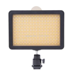 New HD-160 LED Video Lamp Light Camera Lighting for Canon Nikon Panasonic SAMSUNG DSLR Camera Free shipping