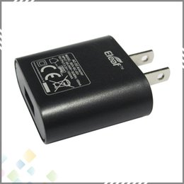 Wholesale Best Eleaf Plug AC Power Adapter Eleaf US EU Plug USB Wall Travel Charger US EU Adapter for Eleaf Mod Original DHL Free