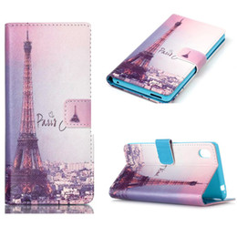 Classic Fashion Flip Wallet Leather Phone Skin Case Cover Stand holder For Sony Xperia M4 Aqua