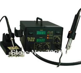 yaxun 702 hot air gun and soldering 2 in 1 SMD rework station 220V 110V BGA rework station