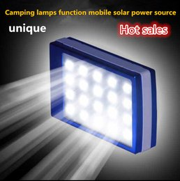 Wholesale Outdoor camping lights LED lamp lighting tent camp light solar charging treasure functional mobile power lighting mAh