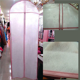 Wholesale Non woven fabrics Wedding Garment Bag Prom party evening dresses Dust Cover