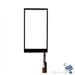 Wholesale Original for HTC One M8 Touch Screen Digitizer Glass Panel Touch Screen With Logo Replacement For HTC M8 Free Tools