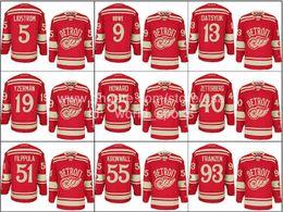 Wholesale Cheap Detroit Pavel Datsyuk Henrik Zetterberg Niklas Kronwall etc Winter Classic Red Wings Nhl Ice Hockey Stitched Jerseys