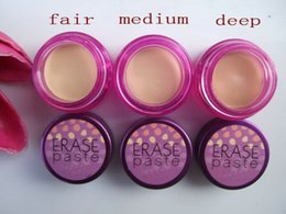 Wholesale Hot Sales Makeup ERASE Concealer Brightening Camouflage For Eyes Face g color can choose