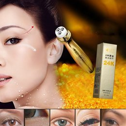 Wholesale eye cream ingredients K Gold Slide Ball Essence Eye Cream Skin Remove Wrinkles Gold Activating Three Step Beauty Eyes Keep Young