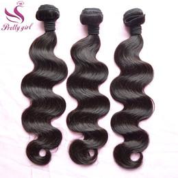 UNPROCESSED 8A Mongolian Virgin Hair Indian Malaysian Peruvian Brazilian Hair Weave Bundles Body Wave Remy Human Hair Extensions Double Weft