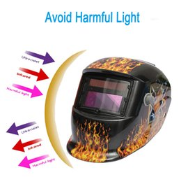 Wholesale Girl Solar Auto Darkening TIG MIG MMA Electric Welding mask Helmet Welder cap Lens for Welding Flow Brazing Welding Metallurgy PIT_107