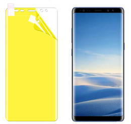 3D Curved Full Cover Hydrogel Film For Samsung Galaxy S10 Plus S10E Lite Work for fingerprint unlocking ultarsound Function Screen Protector