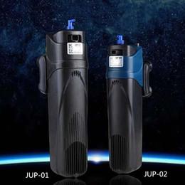 SUNSUN 500L H 800L H Aquarium Fish Tank Submersible Filter Pump Algae Cleaner Ultraviolet Clarifier UV Sterilizer Light JUP-01 02
