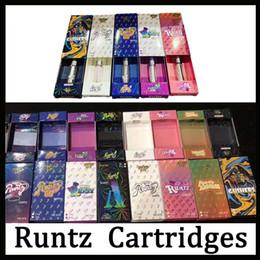 Newest Runtz Vape Cartridges Carts Packaging 9 Flavors For Option E cigarette Empty Pen 0.8ml 1.0ml Oil Cartridge Vaporizer 510 Atomizer