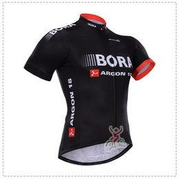 2015 BORA - ARGON 18 PRO TEAM BLACK RED ONLY SHORT SLEEVE SHIRT CYCLING JERSEY CYCLING WEAR SIZE:XS-4XL A10
