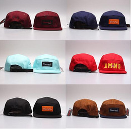 Adult dimoand baseball hat trend brim bone bboy 2019 plain blank 5 panel gorras snapback diamond caps for men and women hip hop cap red gray