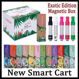 Newest Smart Smartbud Cart With 22 Flavors Vape Cartridge 1.0ml Ceramic Coil 510 Thick Oil SmartCarts Vapor Vs Dank Vapes Kingpen Cartridges