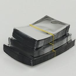 5*7cm - 12x17cm plain pocket, 200pieces lot aluminium foil bags heat seal - Silvery aluminzing packing food bag   plating foil plastic pouch