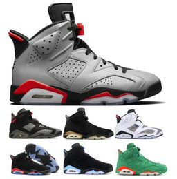 New 6 6s Basketball Shoes Sneakers Mens Womens Reflections Infrared 2019 DMP UNC Oreo Tinker Gatorade Carmine VI High Jumpman Trainers Shoes