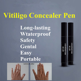 Vitiligo Concealer Liquid Pen Waterproof Vitiligo White Spots Natural Hide Leukoderma Instant Makeup Covering Solution for Skin Disease