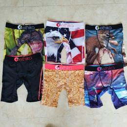 Promotion !!Random styles Ethika Kid's boxer underwear sports hip hop rock excise underwear skateboard street fashion quick dry Cotton