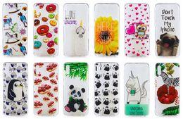 Panda Soft TPU Case For Samsung Galaxy M10 M20 A50 A30 Flower Butterfly Owl Penguin Sunflower Doughnut Dog Zebra Animal Cartoon Cover Luxury