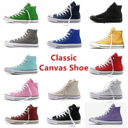 shoes Brand New Unisex Low Style Adult Women's Mens Big kids Canvas Shoes Laced Up Casual Shoes Sneaker 15 Colors Drop Shipping Top Quality