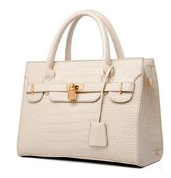 2019 New women lady tote handbag designer lock fashion shoulder bag Women's Handbag PU Leather Shoulder Bags Messenger Bag