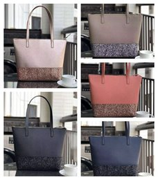 5 colors new glitter large Brand Designer Women Shoulder Bag Purses Fashion Handbags totes