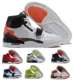 Jumpman Legacy 312 Basketball Shoes Sneakers 2019 Mens Man Orange Airing NRG Hot Lava Billy Hoyle Rookie Of The Year Classic Sports Shoes