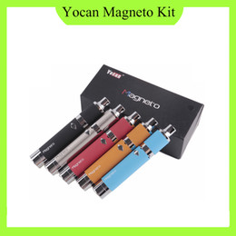 Yocan Magneto Kit Magneto Connection 1100mAh Battery With Magneto Ceramic Coil Wax Vapor Pen VS Yocan Evolve Plus wax kit 0268036