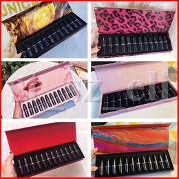 M Makeup Matte Lipstick Luster Forest Sexy Lip Kit Retro Lipsticks Frost Sexy Lip sticks set 12pcs set