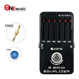 Joyo JF-11 6-Band Equalizer, Smooth Sliders and 18dB Boost   Cut guitar effect pedal