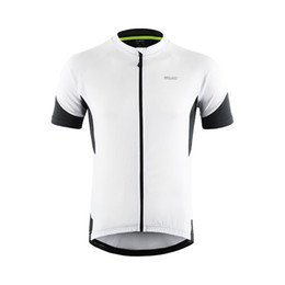 ARSUXEO Men Cycling Jersey 2019 Pro team Downhill Jerseys MTB Mountain Bike Shirts Bicycle Clothing Quick dry 650