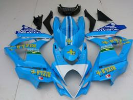 Custom Fairing body kit for SUZUKI GSXR1000 07 08 GSX-R1000 Bodywork GSX R1000 K7 2007 2008 RIZLA Blue Fairings set+gifts SS02