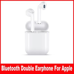 A pods For iphone X 7 8 plus Wireless Bluetooth In-ear Earphone Deeper Bass Smart Earbuds Voice Connect Same for ipone