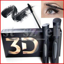 3D Fiber Lashes Mascara Waterproof Double 1030 version 3D FIBER LASHES Eyelash Makeup Set 1set=2pcs