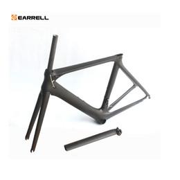 Carbon Road Bike Frame 2019 Di2 and Mechanical 50 53 56mm Super Light carbon road Frame+Fork+headset carbon bicycle frame